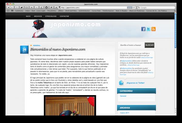 El nuevo Japonismo.com